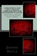 Lord Byron and Lady Caroline Lamb Book PDF
