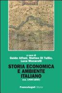 Storia economica e ambiente italiano, ca. 1400-1850