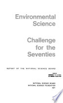 Environmental Science; Challenge for the Seventies