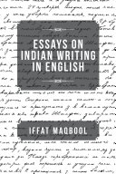 Pdf Essays on Indian Writing in English