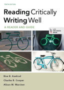 Reading Critically  Writing Well Book