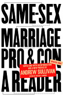 Same Sex Marriage  Pro and Con