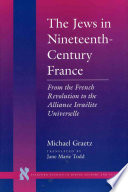 The Jews in Nineteenth century France
