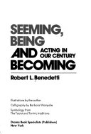Seeming  Being  and Becoming