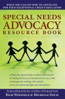 Special Needs Advocacy Resource Book