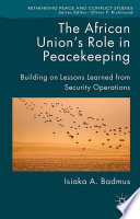 The African Union S Role In Peacekeeping