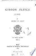 Gideon Fleyce Book PDF