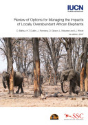 Review of Options for Managing the Impacts of Locally Overabundant African Elephants