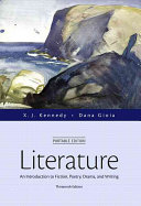 Literature  An Introduction to Fiction  Poetry  Drama  and Writing  Portable Edition Plus Revel    Access Card Package Book
