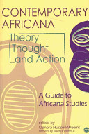 Contemporary Africana Theory  Thought  and Action Book
