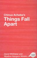 Chinua Achebe s Things Fall Apart Book