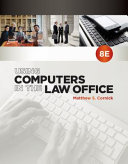 Using Computers In The Law Office Loose Leaf Version