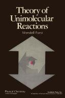Theory of Unimolecular Reactions