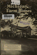 Michigan Farm Homes