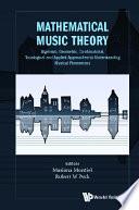 Mathematical Music Theory