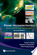 Power Microelectronics  Device And Process Technologies  Second Edition  Book