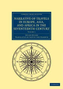 Narrative of Travels in Europe, Asia, and Africa in the Seventeenth Century
