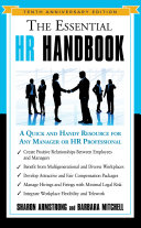 The Essential HR Handbook  10th Anniversary Edition Book