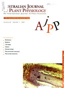 Australian Journal Of Plant Physiology Book PDF