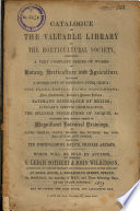 Auction catalogue, books of Horticulture Society, 2 May to 5 May 1859