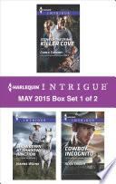 Harlequin Intrigue May 2015 Box Set 1 Of 2
