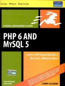 Php 6 And Mysql 5 For Dynamic Web Sites Visual Quick Pro Guide