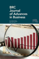 Brc Journal of Advances in Business Volume 2, Number 1