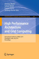 High Performance Architecture and Grid Computing