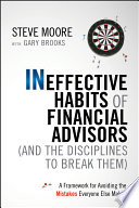 Ineffective Habits of Financial Advisors  and the Disciplines to Break Them