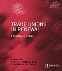 Trade Unions in Renewal Pdf/ePub eBook