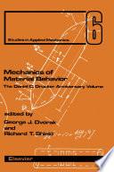 Mechanics of Material Behavior
