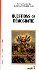 Questions de démocratie