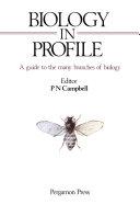 Biology in Profile