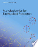 Metabolomics For Biomedical Research Book PDF