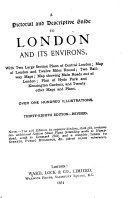A Pictorial and Descriptive Guide to London and Its Environs