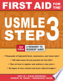First Aid for the USMLE Step 3  Second Edition