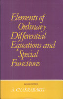 Elements Of Ordinary Differential Equations And Special Functions