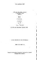 A History of Irish Catholicism Book PDF