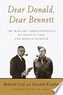 Dear Donald  Dear Bennett