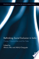 Rethinking Social Exclusion in India