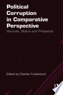 Political Corruption in Comparative Perspective