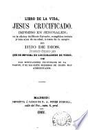 Libro de la vida, Jesus Crucificado, impreso en Jerusalen ...