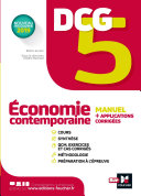 Pdf DCG 5 - Economie contemporaine - Manuel et applications Telecharger