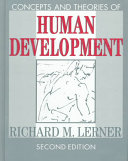 Concepts and Theories of Human Development Book