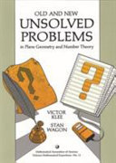 Old and New Unsolved Problems in Plane Geometry and Number Theory