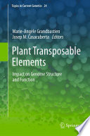 Plant Transposable Elements Book