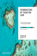 Cover of Foundations of Taxation Law 2019