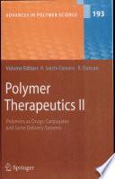 Polymer Therapeutics II