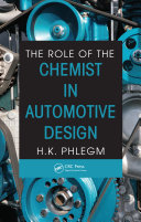 Pdf The Role of the Chemist in Automotive Design