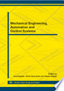 Mechanical Engineering Automation And Control Systems Book PDF